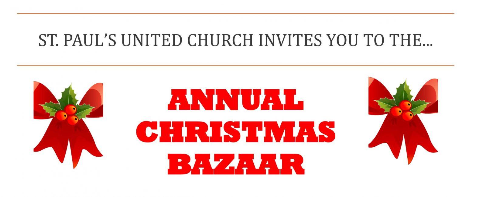 Christmas Bazaar graphic