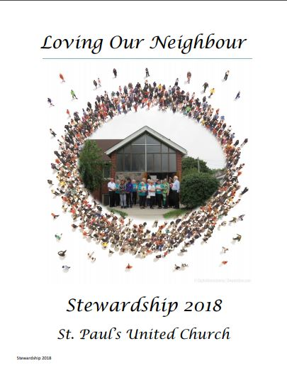 Learn more about St. Paul's 2018 Stewardship Campaign