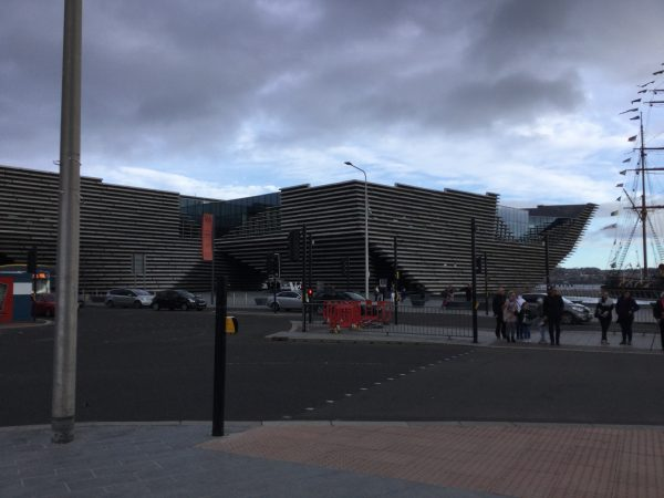Exterior of Museum in Dundee