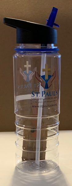 SPUC water bottle for sale. Reduce the use of single use plastics